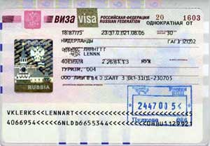 Program Russian Visa To 3